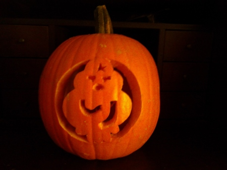 La calabaza de PB de Halloween