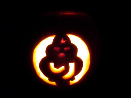 Calabaza Halloween 2012