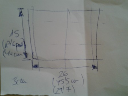 Diseño profesional con las medidas del campo