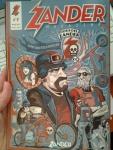Portada alternativa Zander Magazine nº 1