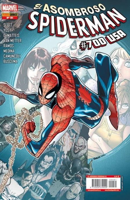 El Asombroso Spiderman 81 (700 USA)