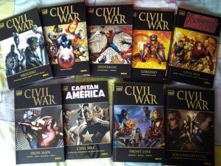Todos los tomos de Civil War